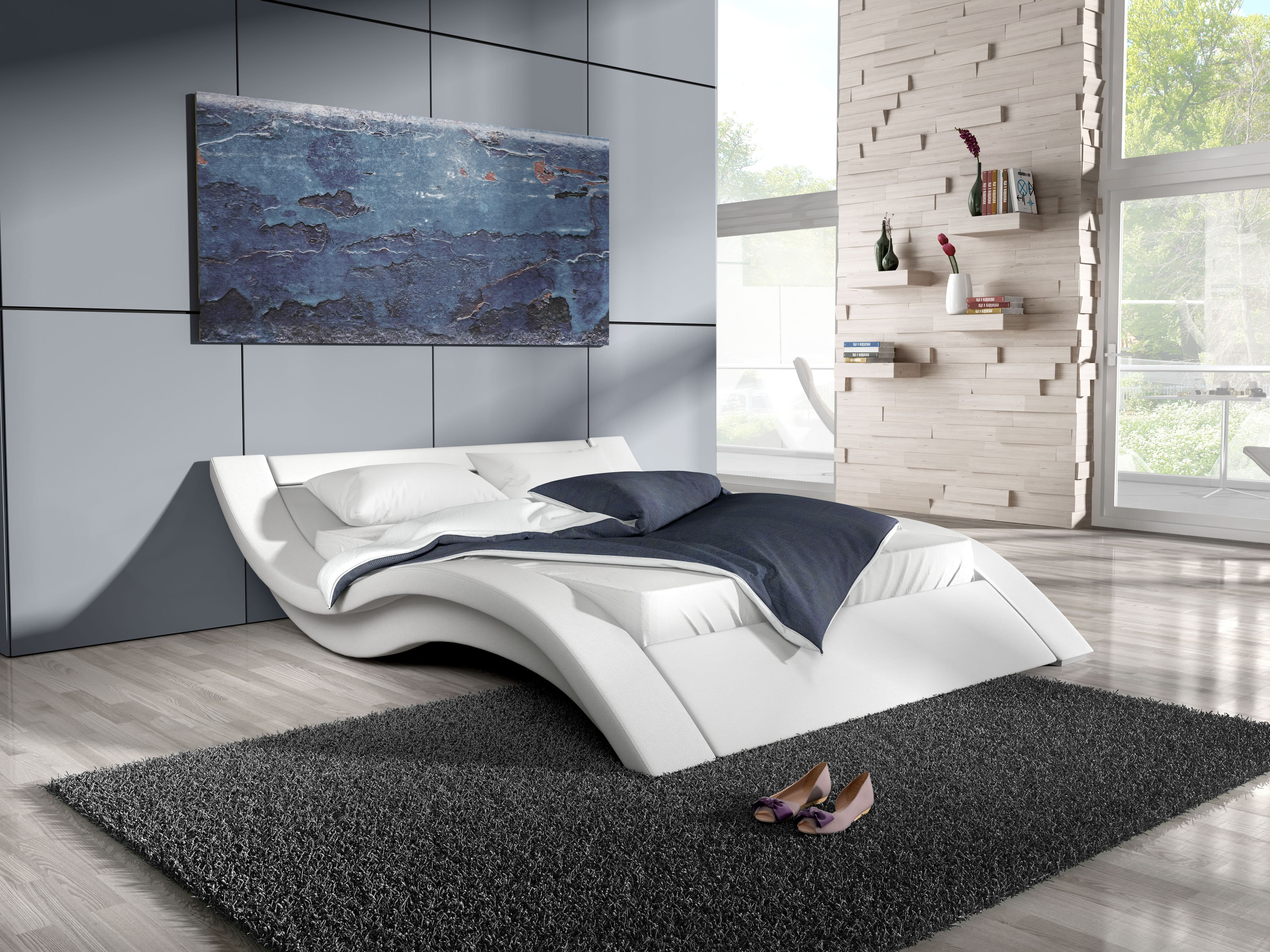 Manželská postel 140 cm - Lilia 11 (s matrací a roštem)