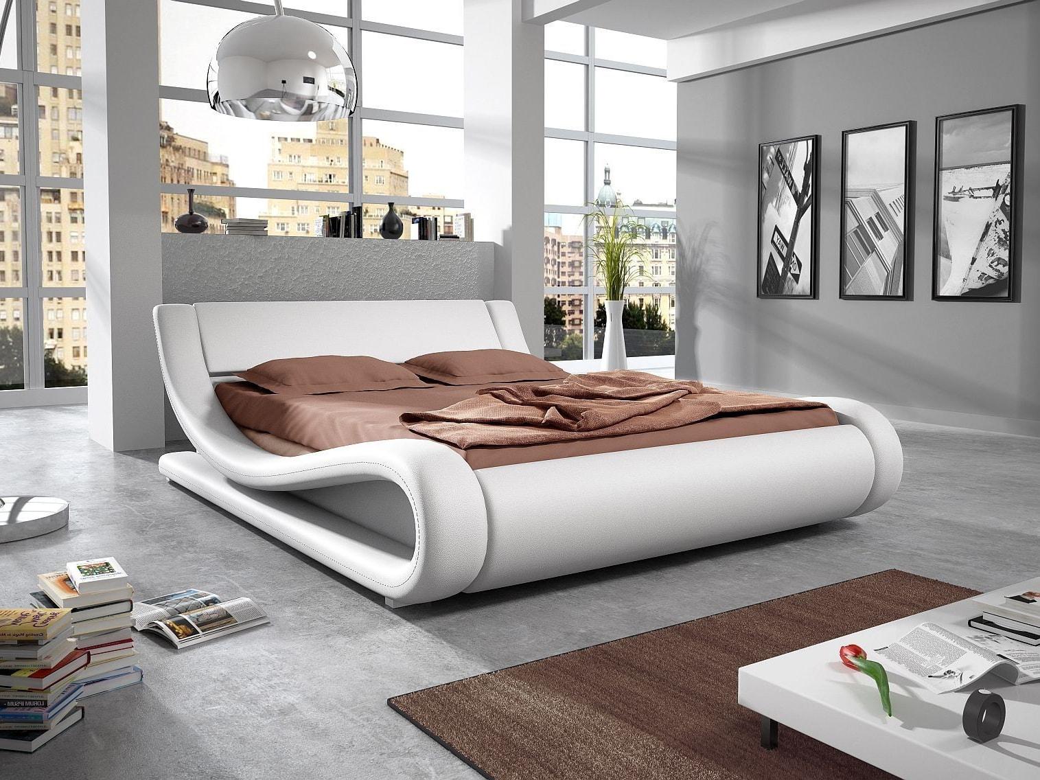 Manželská postel 140 cm - Lilia 12 (s matrací a roštem)