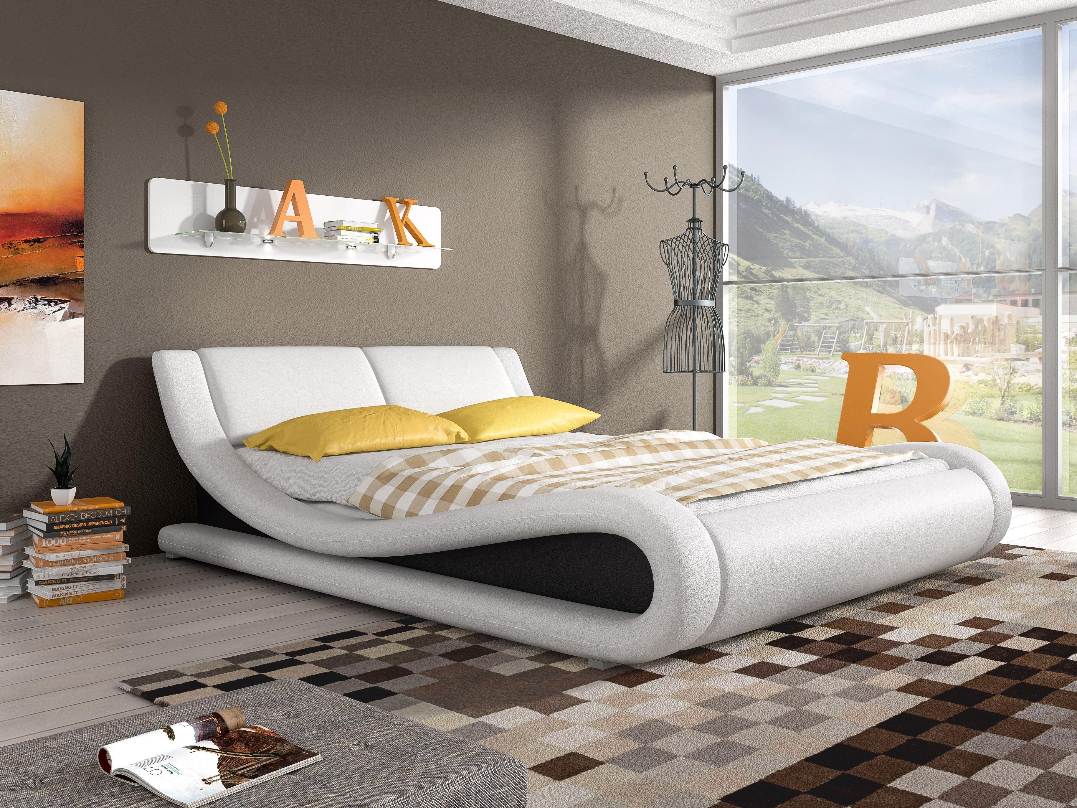 Manželská postel 140 cm - Lilia 13 (s matrací a roštem)