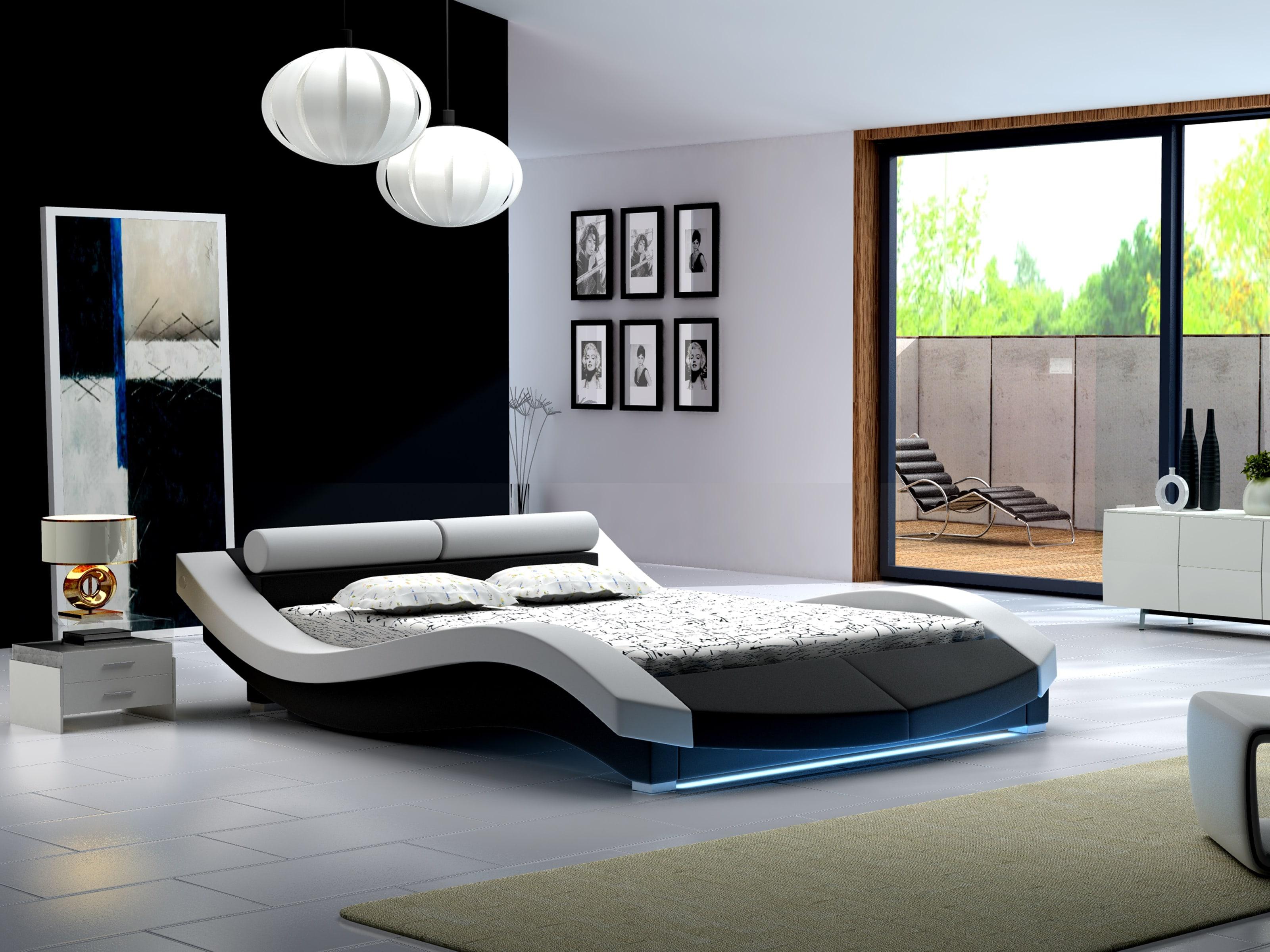 Manželská postel 140 cm - Lilia 7 (s matrací a roštem)