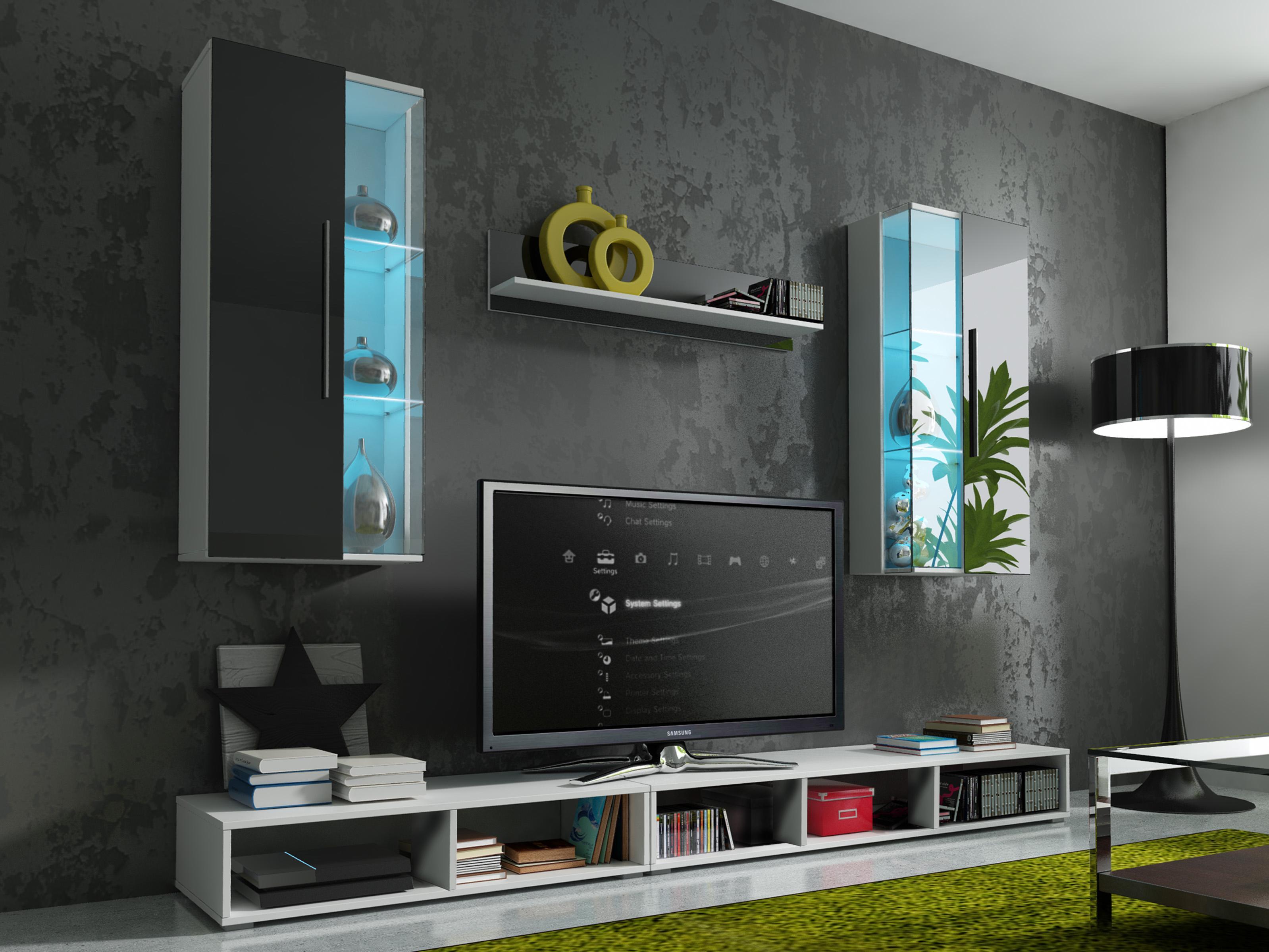 Obývací stěna - Elmo (s osvětlením)