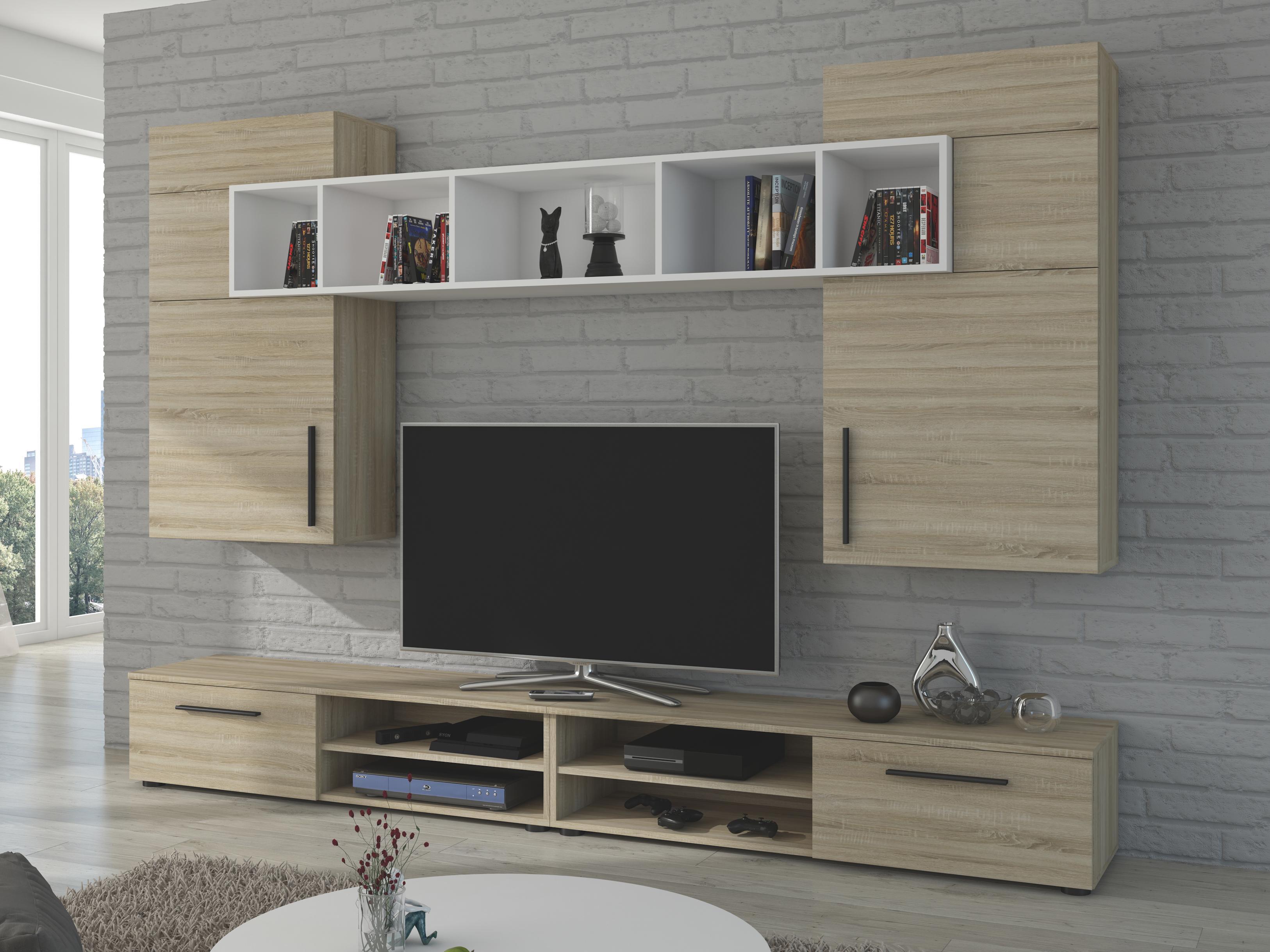 Obývací stěna - Belton (dub sonoma)