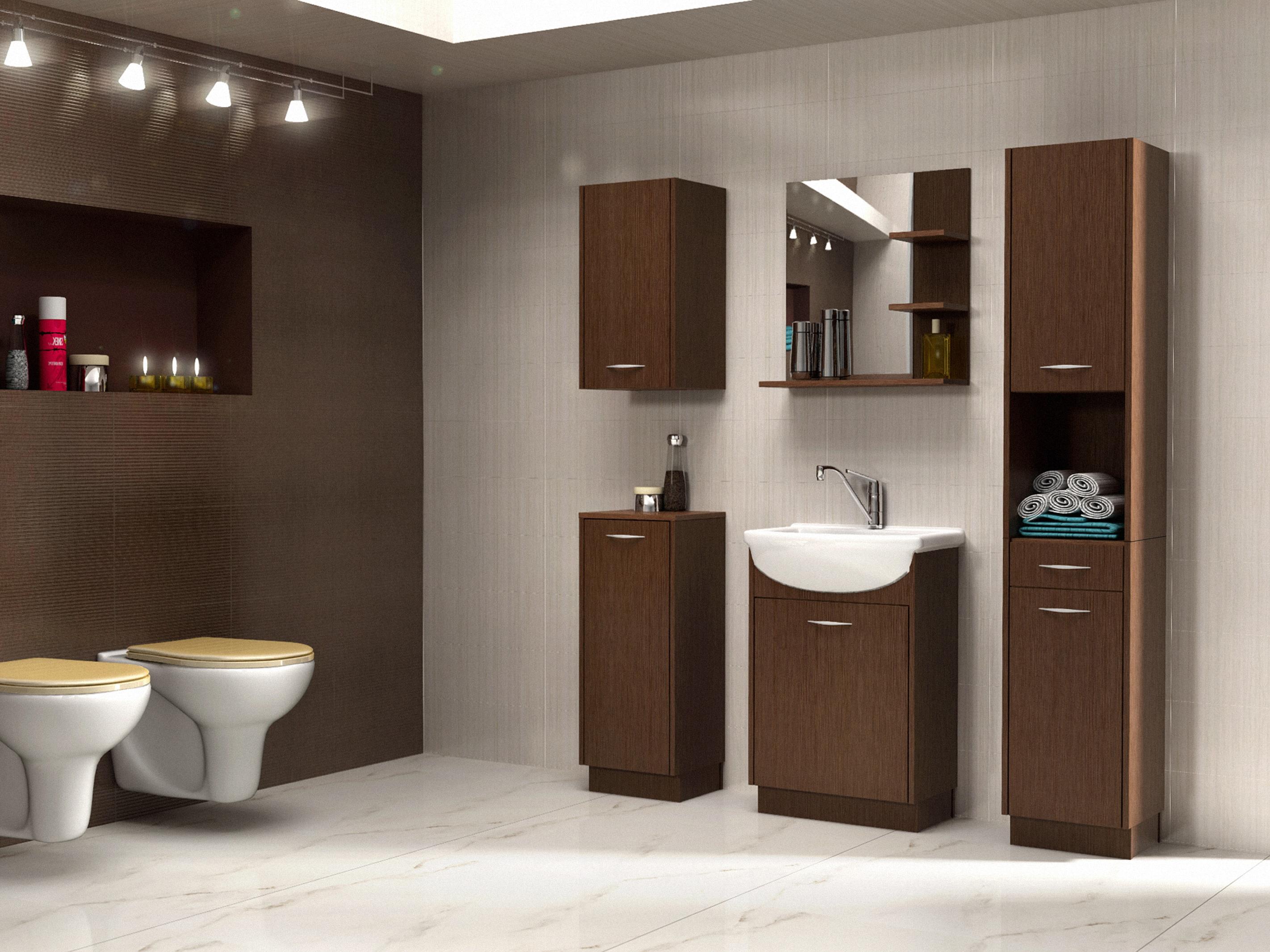 Koupelna Napton (wenge)