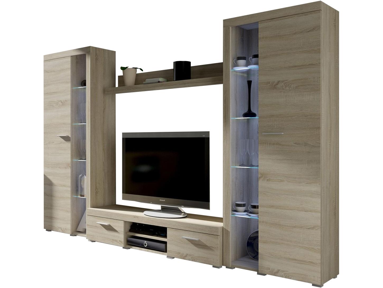 Obývací stěna - Rudby XL (dub sonoma)