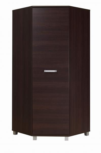 Rohová šatní skříň - Manton - M34