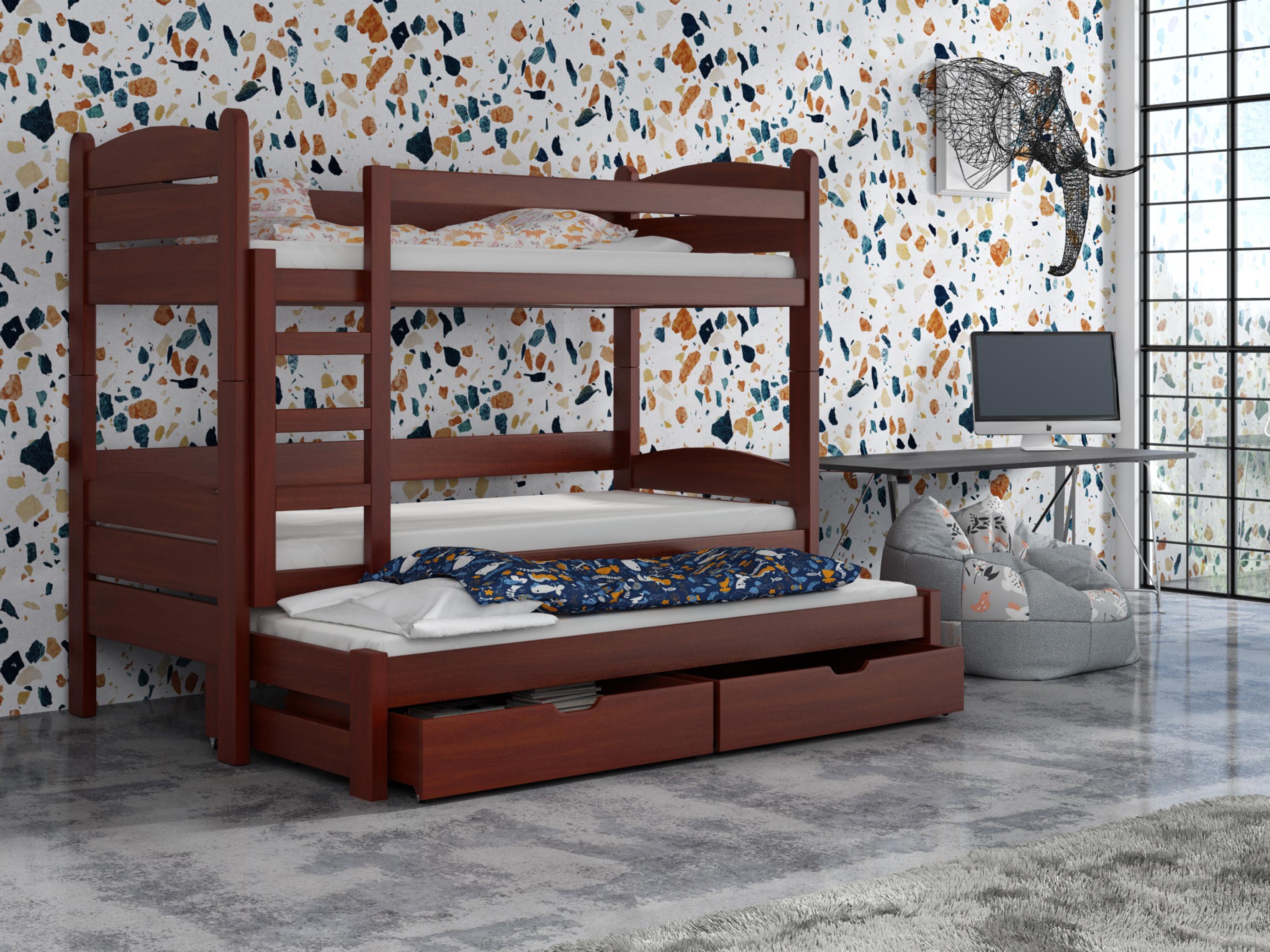 Dětská patrová postel 90 cm - Celsa (calvados)