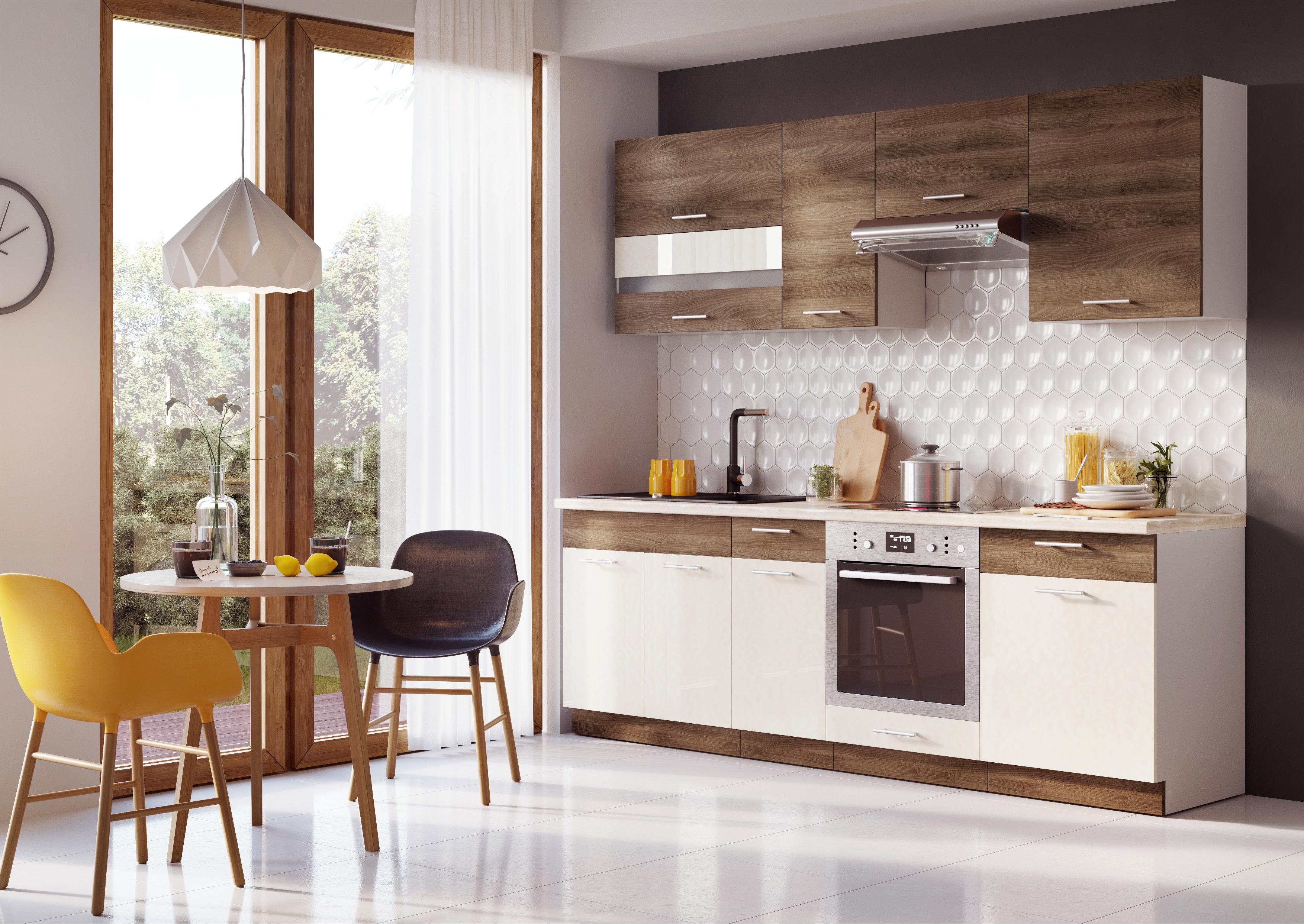 Kuchyň - Maira 240 cm (akácie)