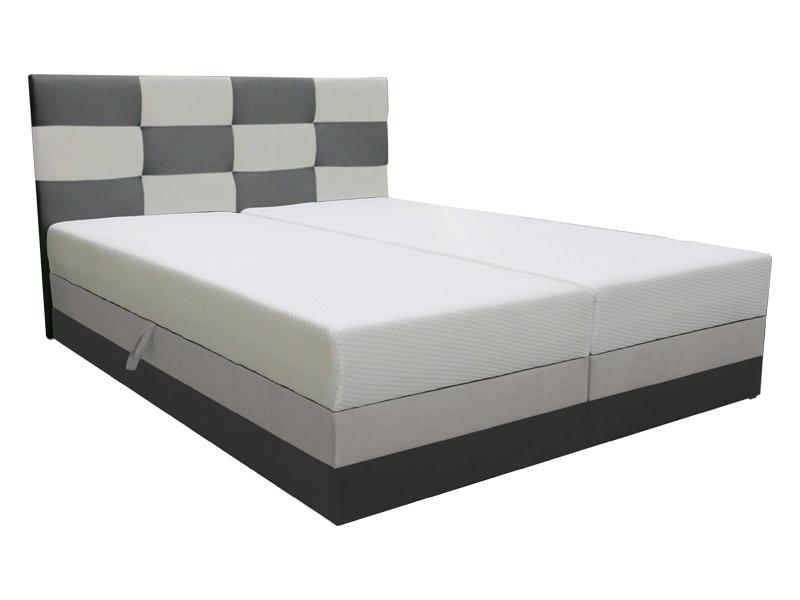 Manželská postel 180 cm - Marion (s roštem a matrací)