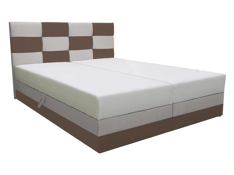 Manželská postel 160 cm - Marion (s roštem a matrací)