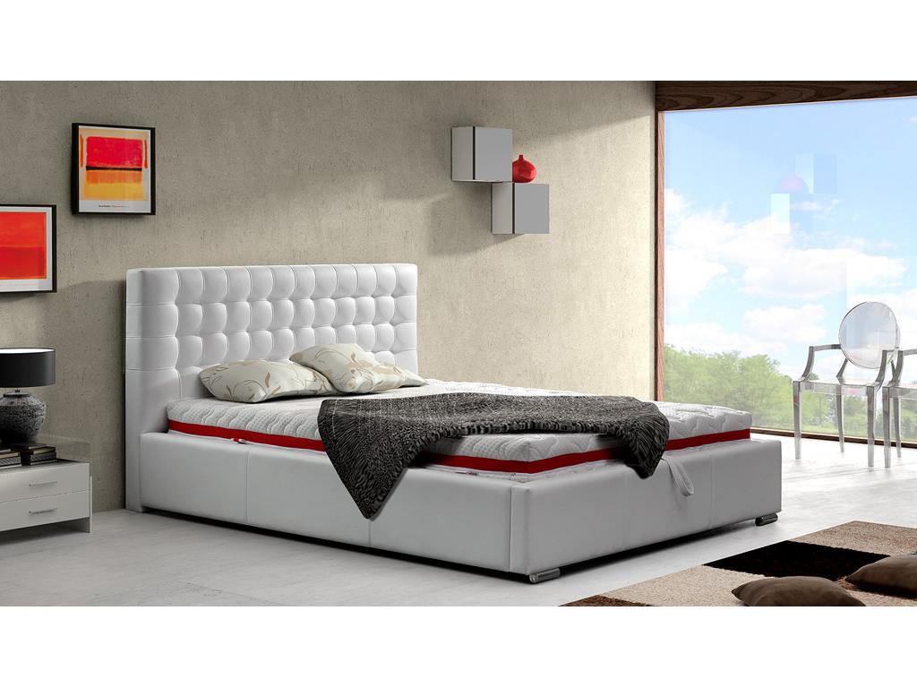 Manželská postel 140 cm - Andover (s roštem)