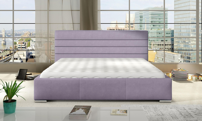 Manželská postel 140 cm - Syston (s roštem)