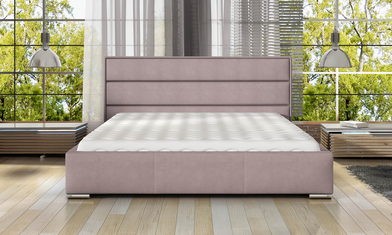 Manželská postel 140 cm - Telford (s roštem)