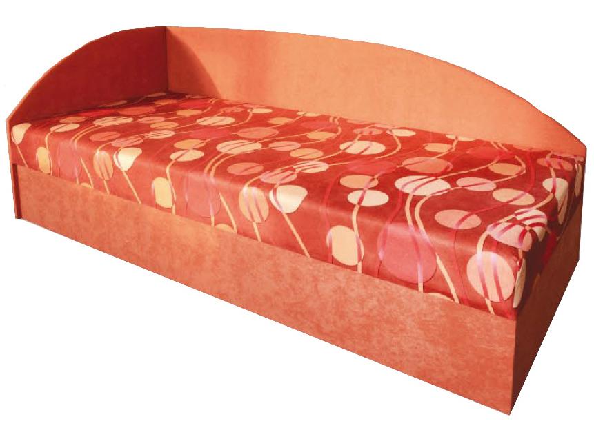 Jednolůžková postel (válenda) 80 cm - Mitru - Marta (s molitanovou matrací) (L)