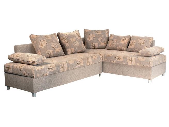 Rohová sedací souprava - Mitru - Bari (s pružinovou matrací) (P)