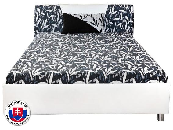 Manželská postel 160 cm - Mitru - Broňa (s molitanovou matrací)