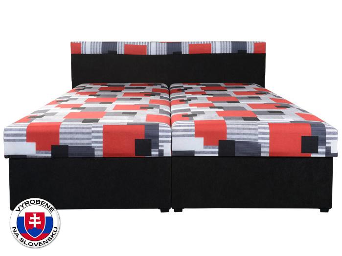 Manželská postel 160 cm - Mitru - Carmen (s molitanovou matrací)
