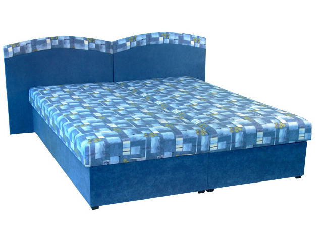 Manželská postel 160 cm - Mitru - Duo (s molitanovou matrací)
