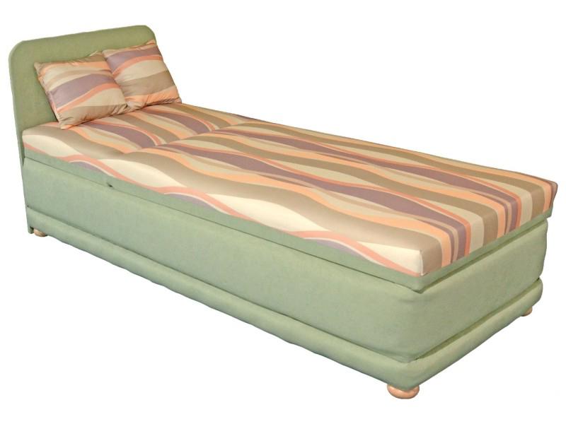 Jednolůžková postel (válenda) 80 cm - Mitru - Ema 80 (s molitanovou matrací)