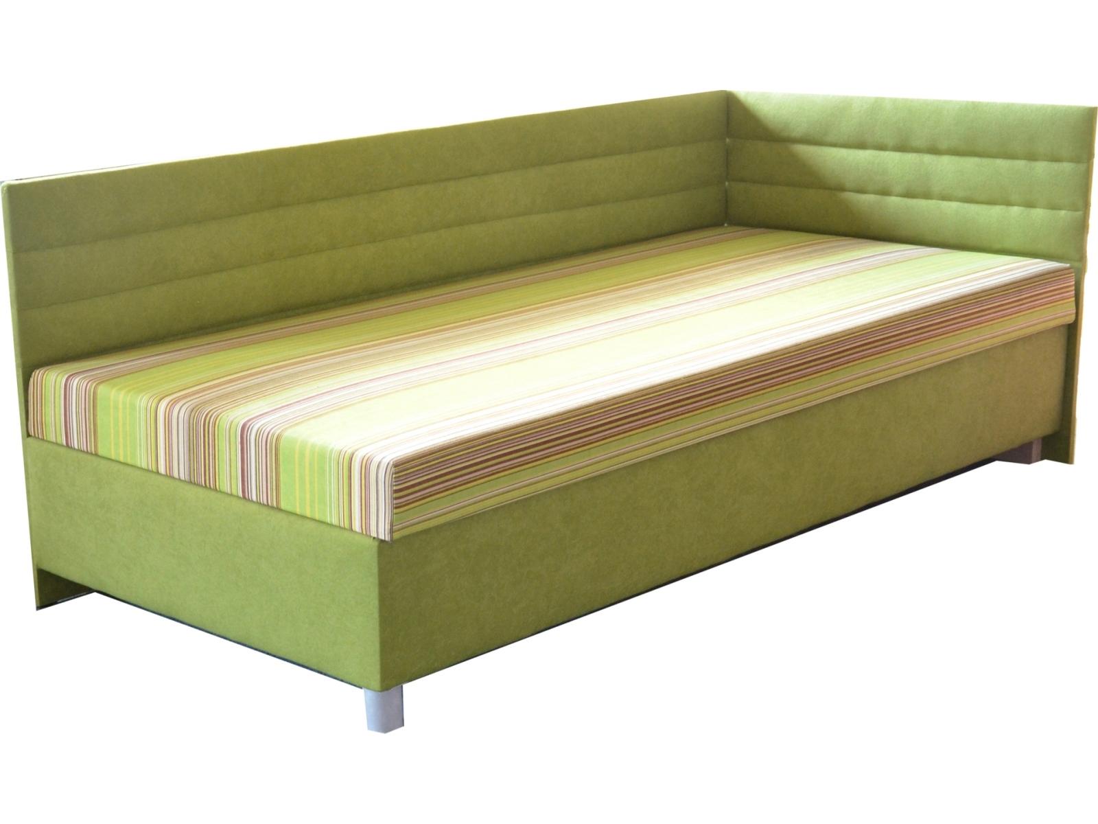 Jednolůžková postel (válenda) 100 cm - Mitru - Etile 2 (s molitanovou matrací) (P)