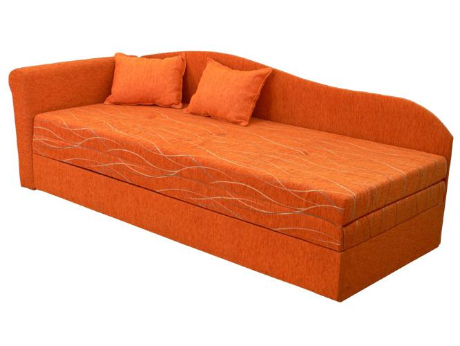 Rozkládací postel (válenda) 80 až 160 cm - Mitru - Katka (s molitanovou matrací) (L)