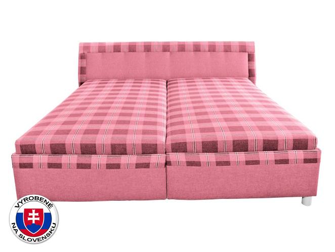 Manželská postel 180 cm - Mitru - Klaudia (s molitanovou matrací)