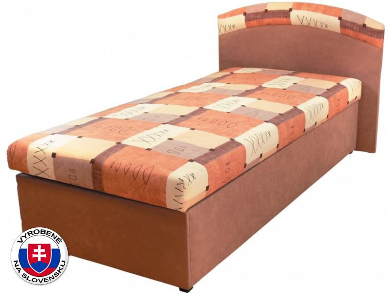Jednolůžková postel (válenda) 90 cm - Mitru - Napoli (s molitanovou matrací)
