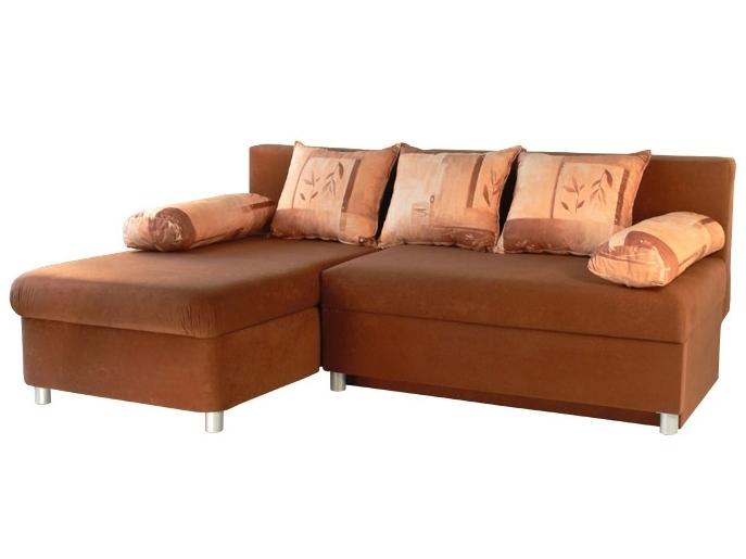 Rohová sedací souprava - Mitru - Nina (s molitanovou matrací) (L)