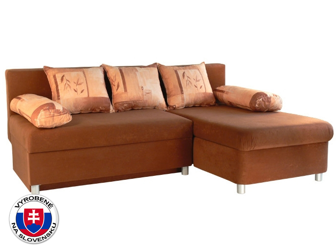Rohová sedací souprava - Mitru - Nina (s molitanovou matrací) (P)