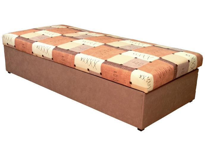 Jednolůžková postel (válenda) 90 cm - Mitru - Palermo (s molitanovou matrací)