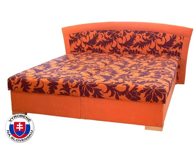 Manželská postel 160 cm - Mitru - Pescara (s pružinovou matrací)