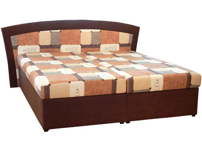 Manželská postel 180 cm - Mitru - Roma 1 (s molitanovou matrací)