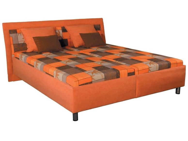 Manželská postel 180 cm - Mitru - Zoja (s molitanovou matrací)