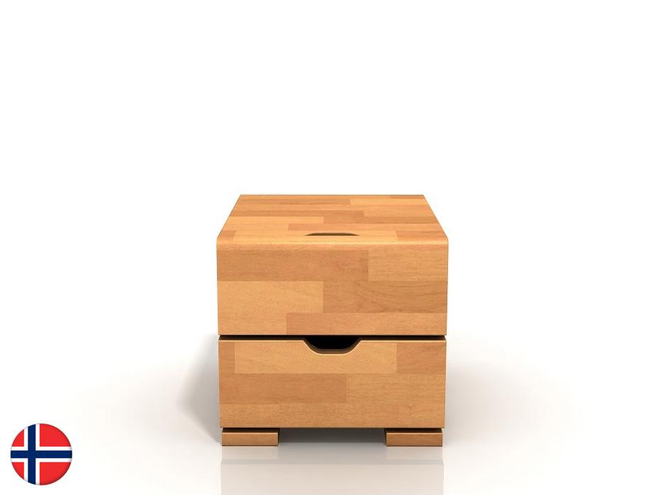 Noční stolek - Naturlig - Blomst High (buk)