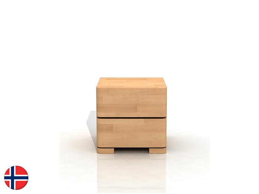 Noční stolek - Naturlig - Lorenskog High 2S (buk)