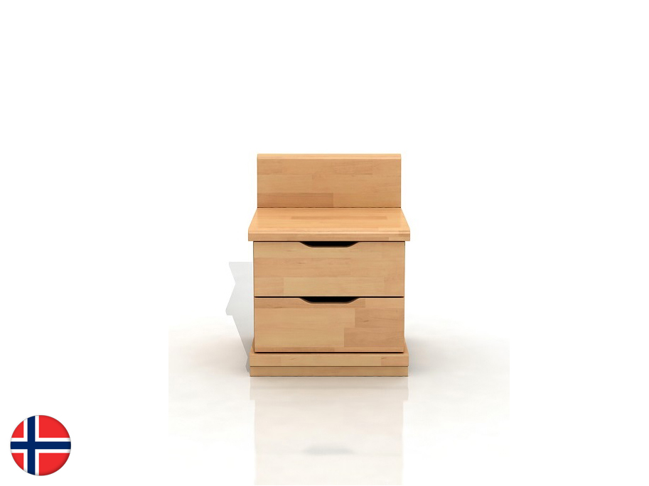 Noční stolek - Naturlig - Tosen High 2S (buk)