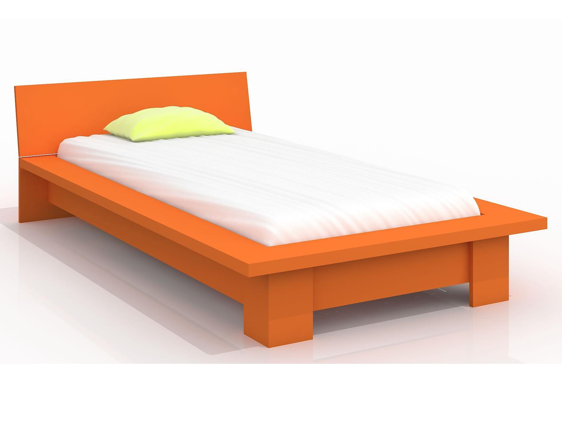 Jednolůžková postel 90 cm - Naturlig Kids - Boergund (borovice) (s roštem)