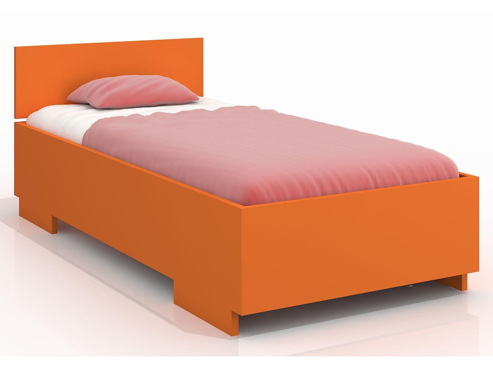Jednolůžková postel 120 cm - Naturlig Kids - Larsos High (borovice) (s roštem)