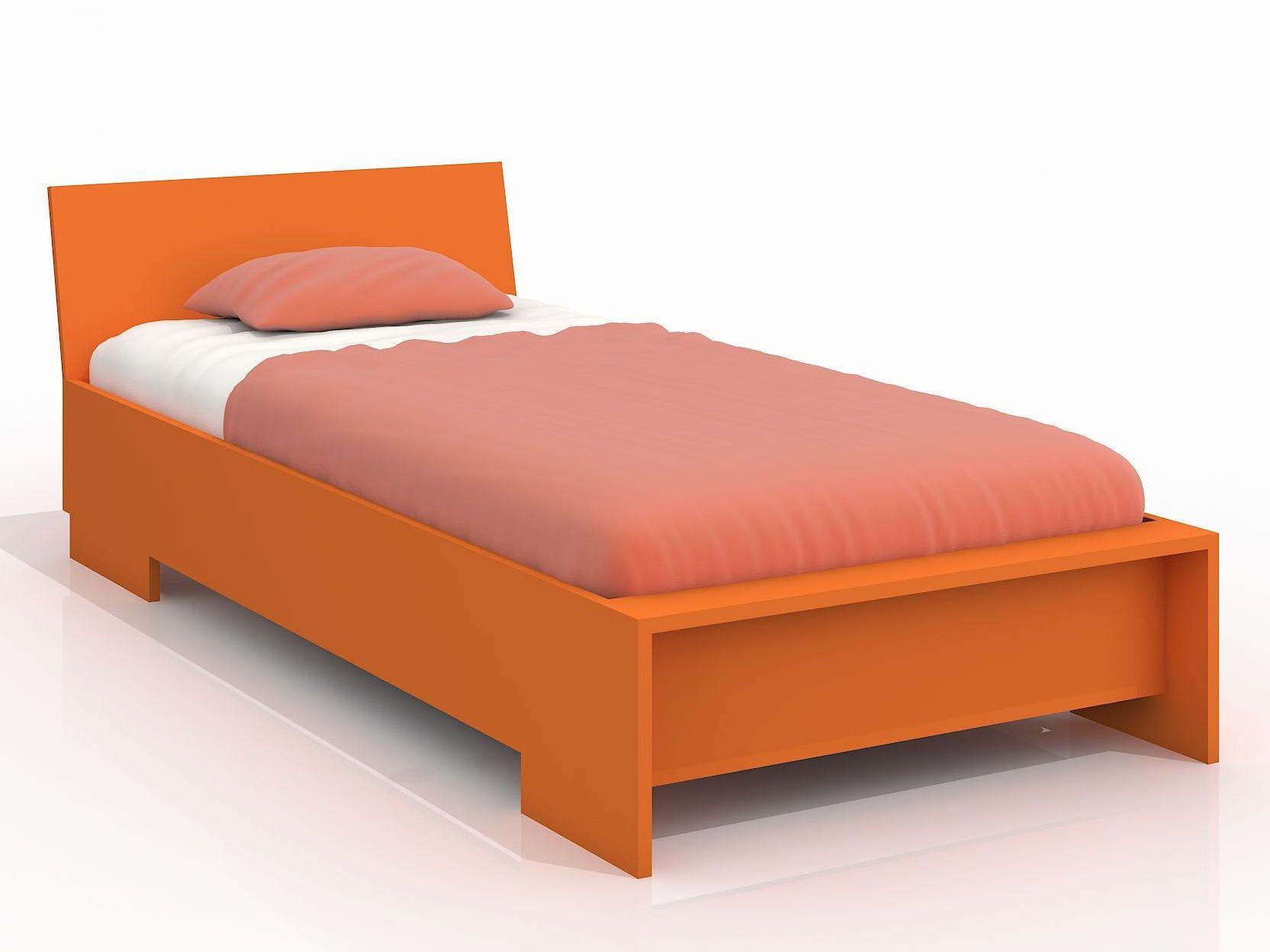 Jednolůžková postel 90 cm - Naturlig Kids - Lekanger High (borovice) (s roštem)