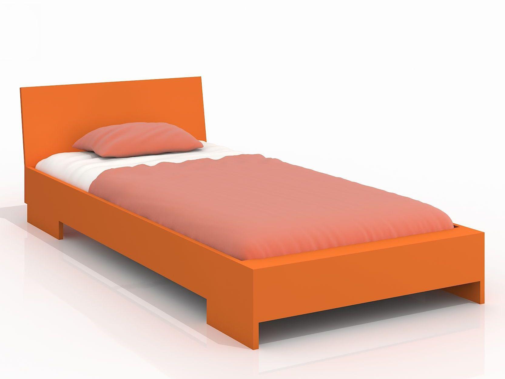 Jednolůžková postel 120 cm - Naturlig Kids - Lekanger (borovice) (s roštem)