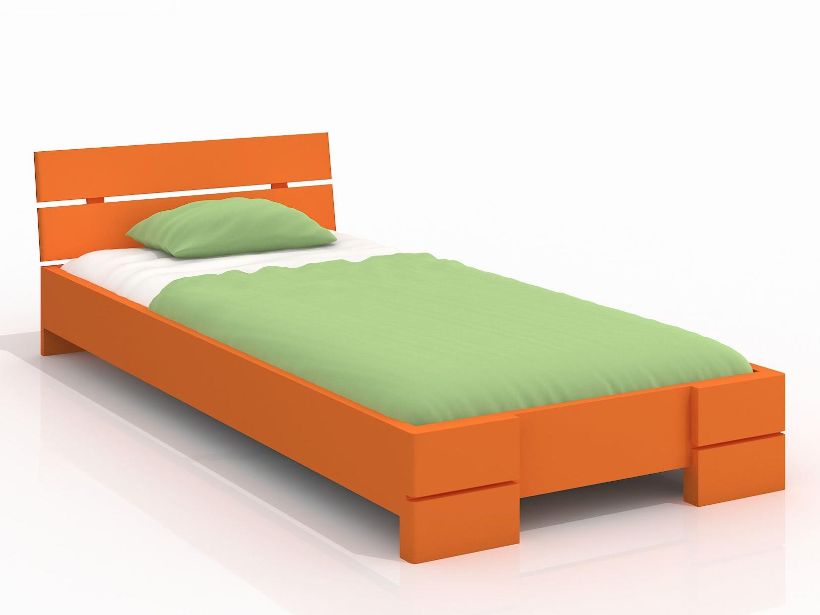Jednolůžková postel 120 cm - Naturlig Kids - Lorenskog (borovice) (s roštem)