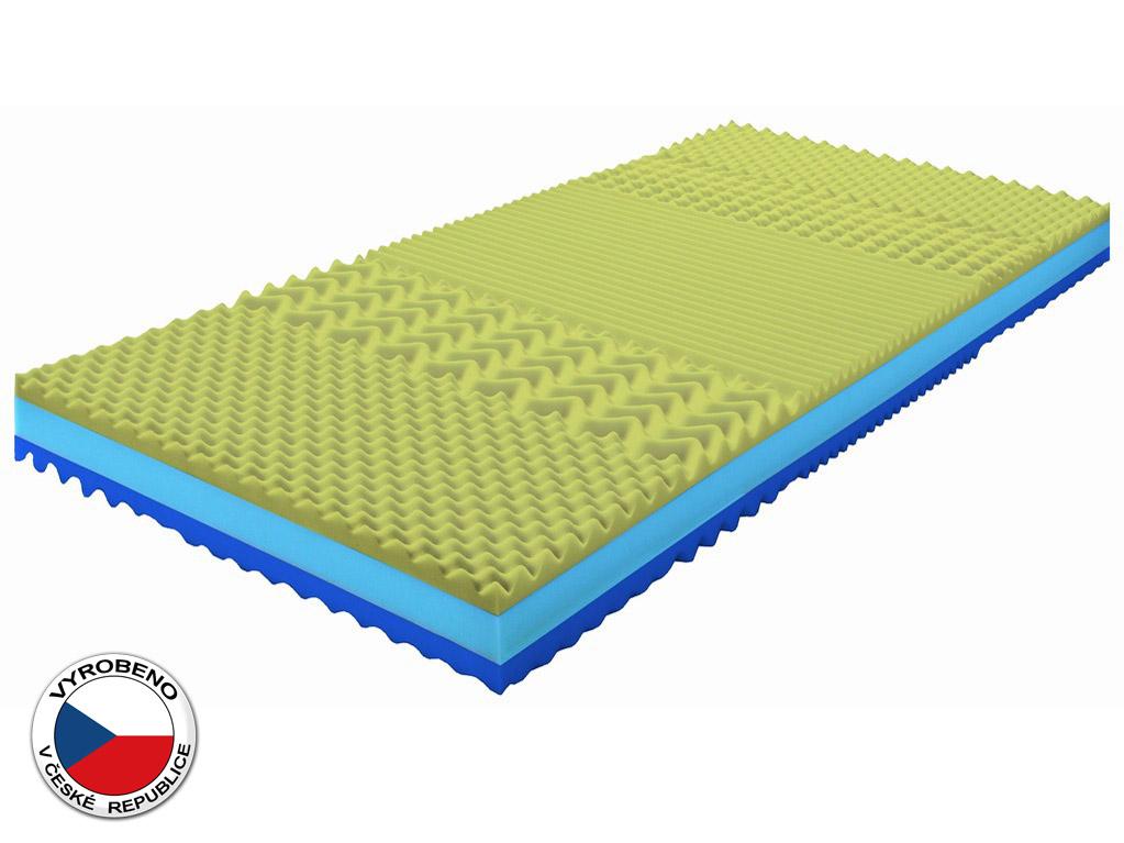Pěnová matrace - Purtex - Adriana Viscofoam - 200x80 cm (T3/T4). Elastická, oboustranní odolná matrace s dlouhou životností, pětizónovou profilací, která zajišťuje uvolnění svalstva během spánku a s dopravou zdarma.