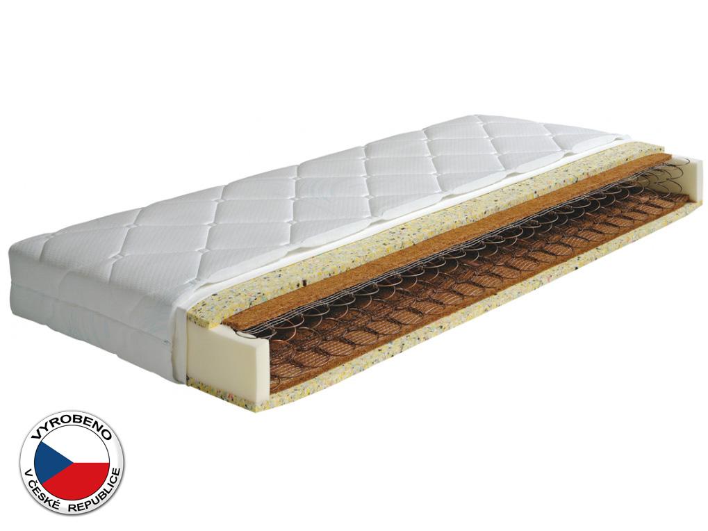 Pružinová matrace - Purtex - Lisa - 195x80 cm (T3). Pružná a vzdušná, klinicky testována matrace s prodlouženou zárukou a certifikátem ÖKO-TEX, s příměsí přírodního kokosu a vysokou nosností (120 kg).