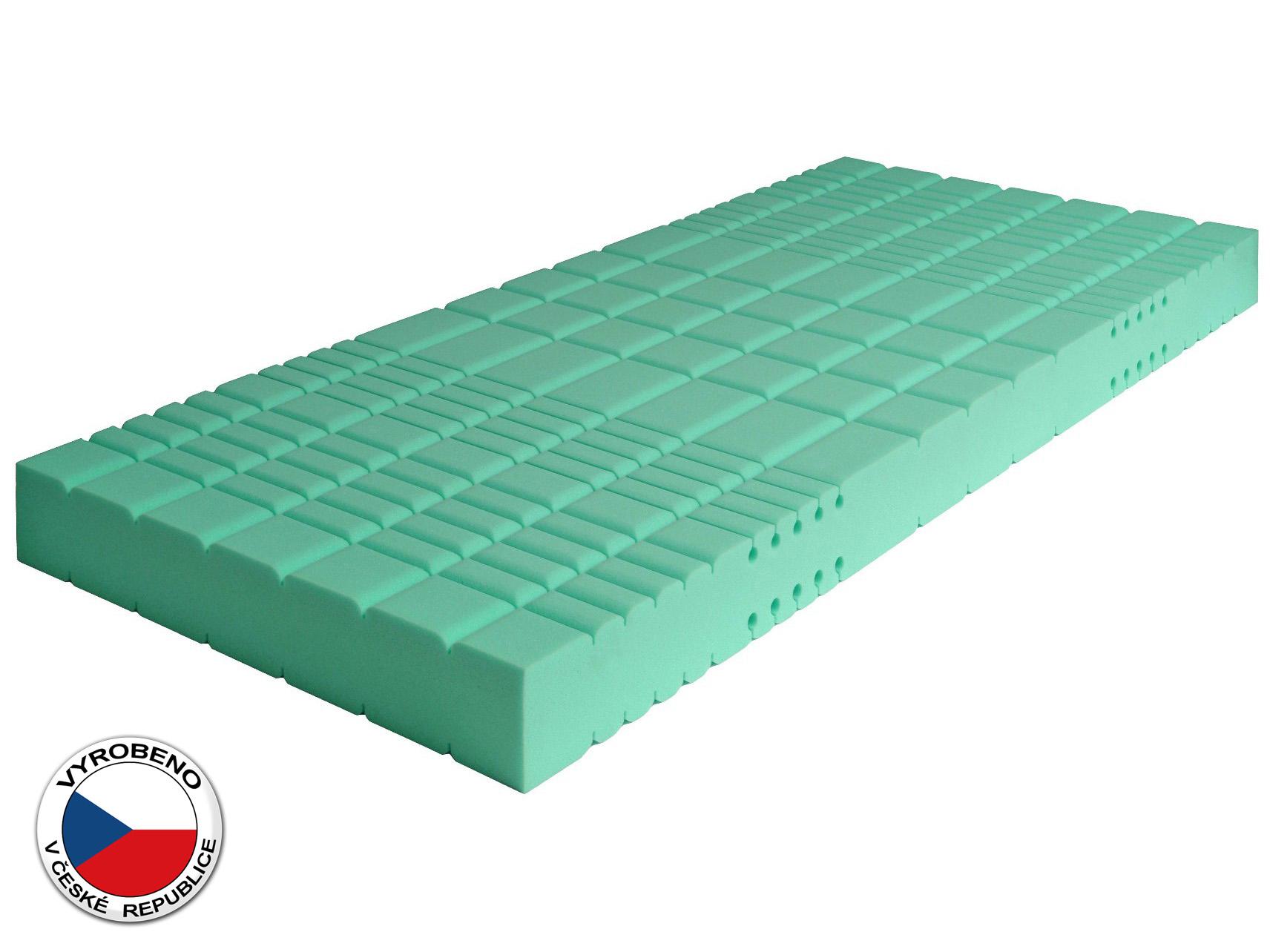 Pěnová matrace - Purtex - Lucy Bio Greenfirst - 195x80 cm (T3). Luxusní a výhodná zdravotní matrace se snímatelným potahem, speciální BIO pěnou a antialergickým jádrem, které poskytuje 100% ochranu proti roztočům.