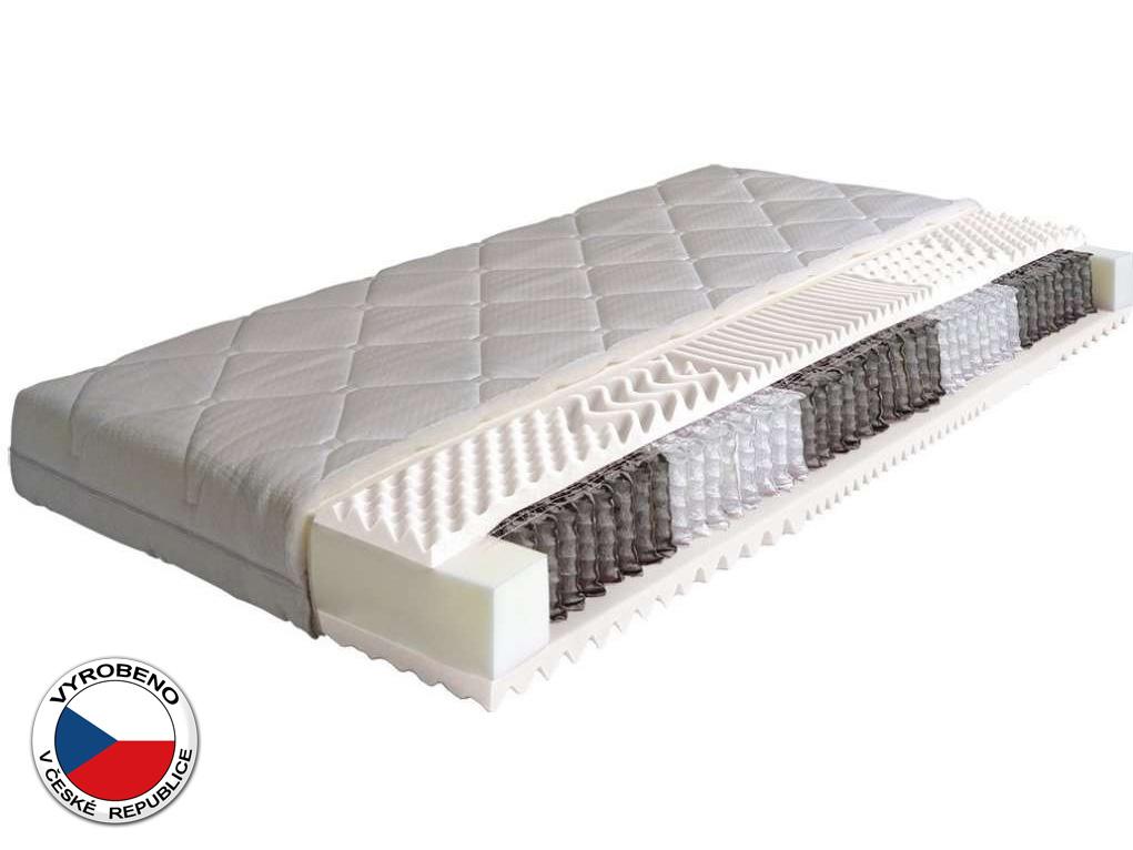 Taštičková matrace - Purtex - Manon - 195x80 cm (T2). Klinicky testována, extra vysoká, luxusní zdravotní matrace s certifikátem ÖKO-TEX, s vynikajícími ortopedickými vlastnostmi a antialergickým potahem.