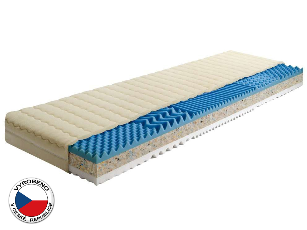Pěnová matrace - Purtex - Trilux Plus - 195x80 cm (T3)
