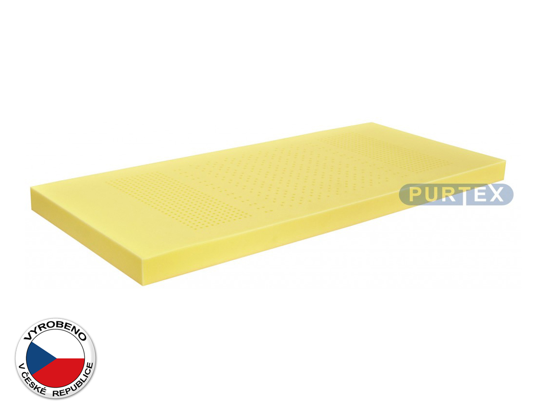 Pěnová matrace - Purtex - Base Perfo - 195x80 cm (T2/T3)