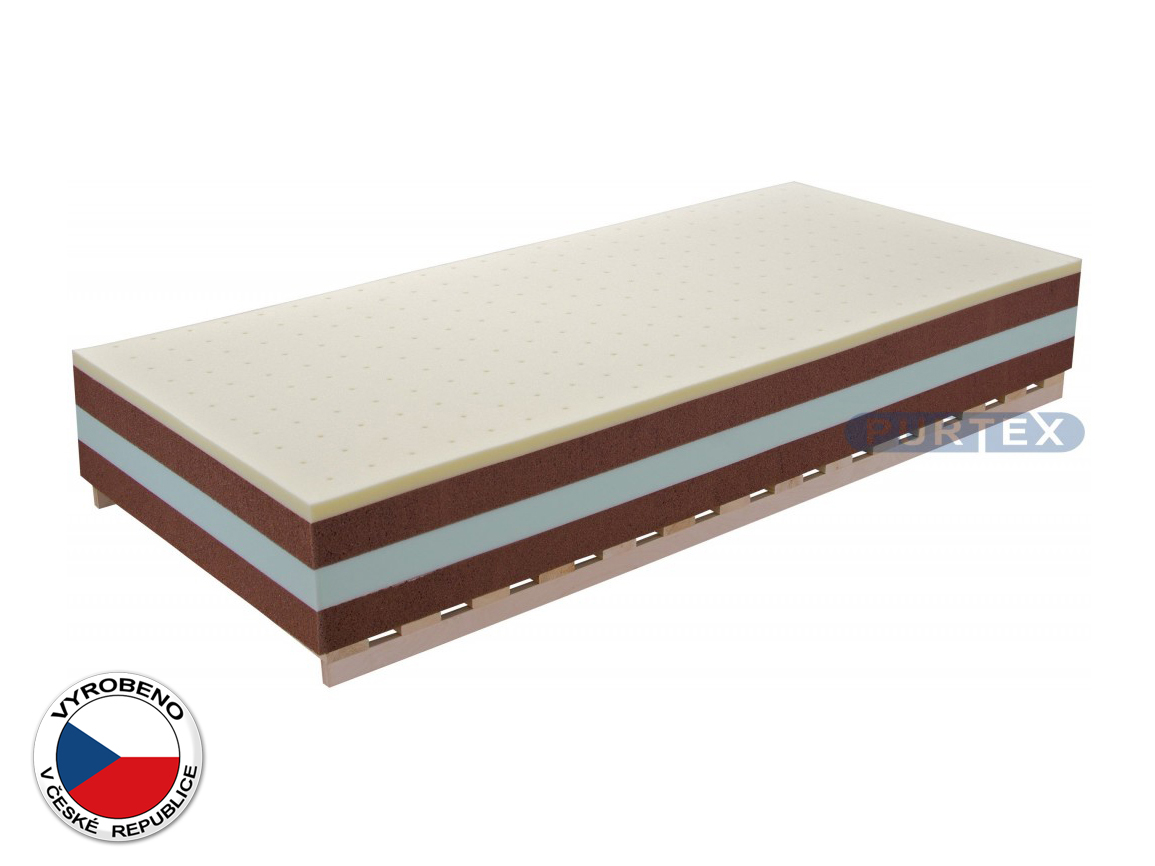 Pěnová matrace - Purtex - Charlotte Xdura Plus - 200x90 cm (T3)