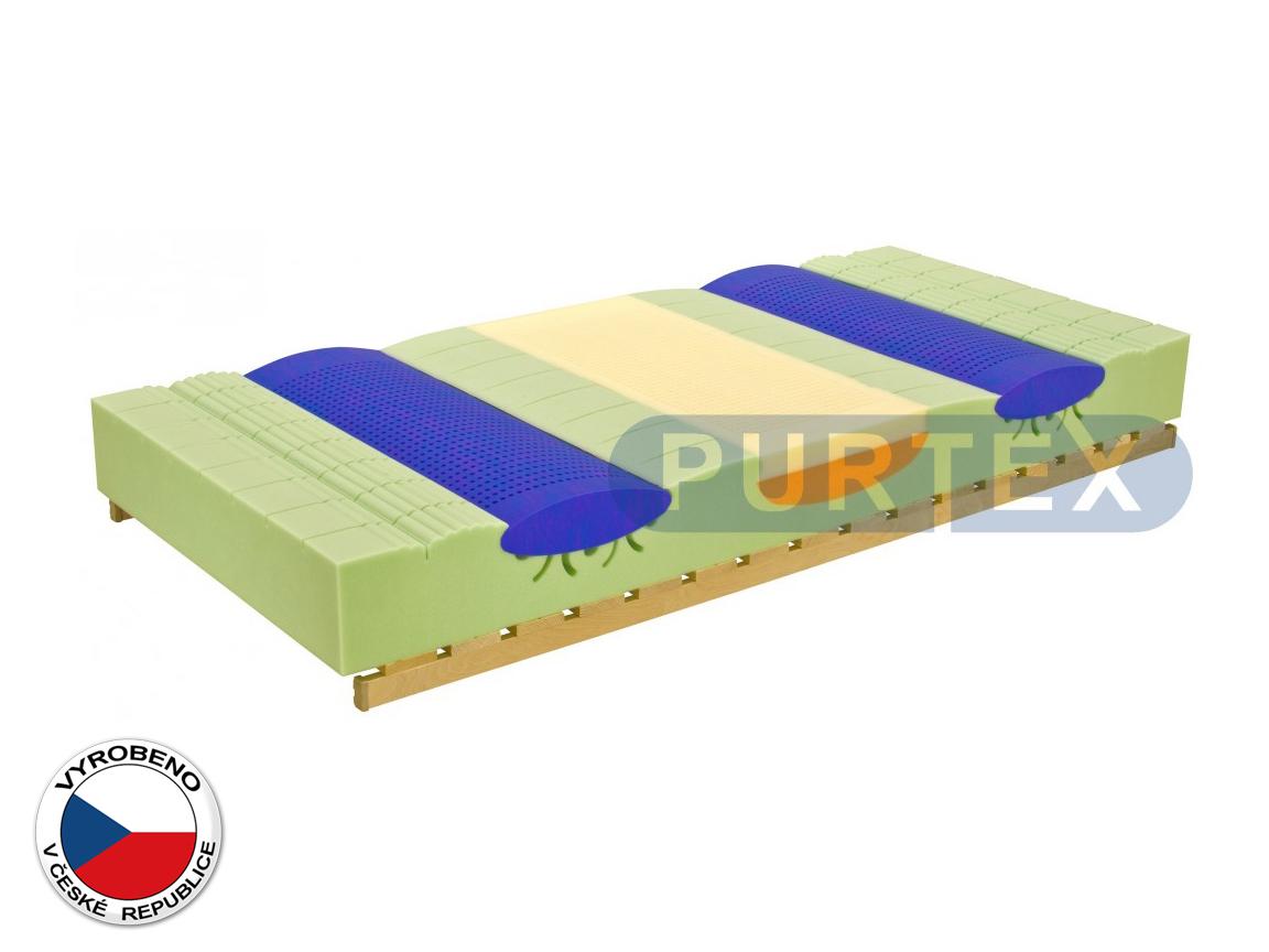 Pěnová matrace - Purtex - Elastic Coolflex - 195x80 cm (T3)