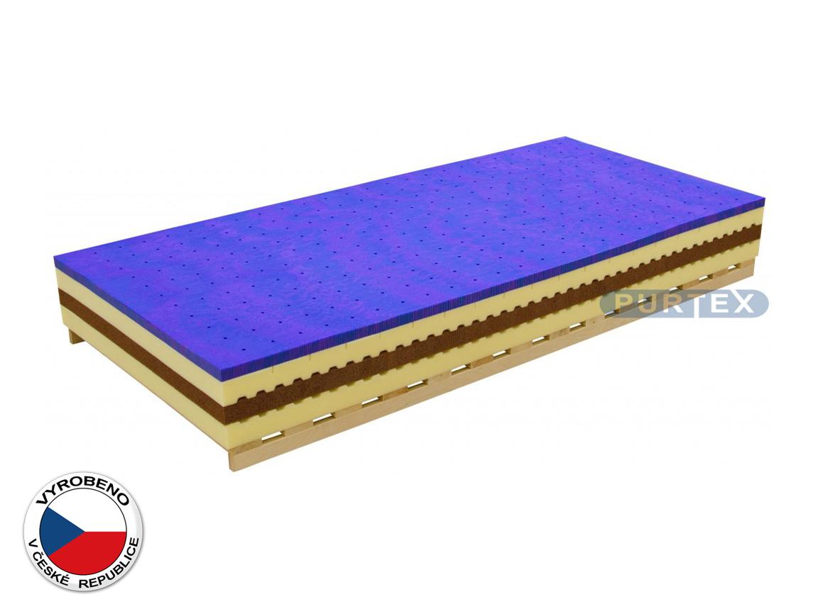 Pěnová matrace - Purtex - Eleanor - 200x80 cm (T3)