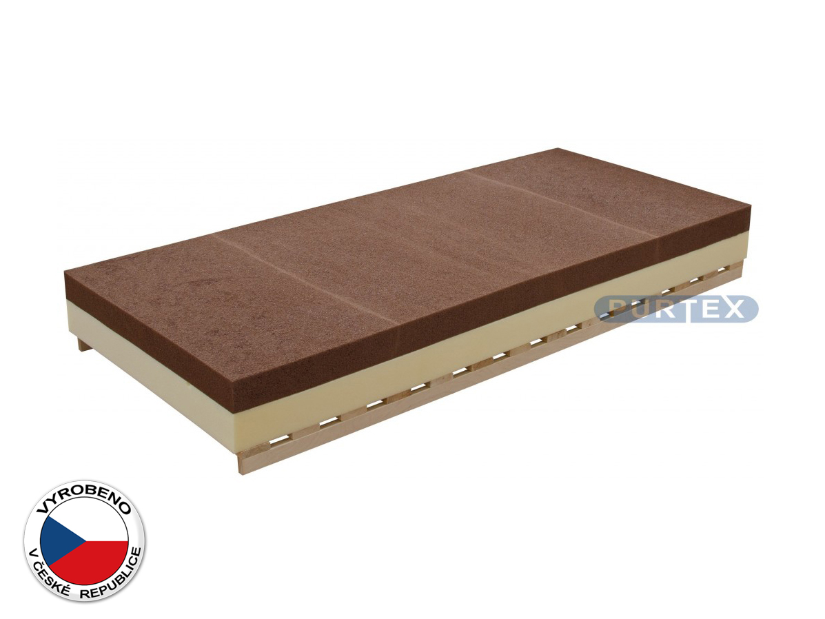 Pěnová matrace - Purtex - Monna Double - 195x80 cm (T3)